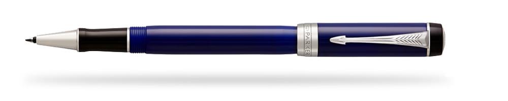 Pióro kulkowe Parker Duofold Classic Niebiesko-Czarny Akryl CT  - 1947987
